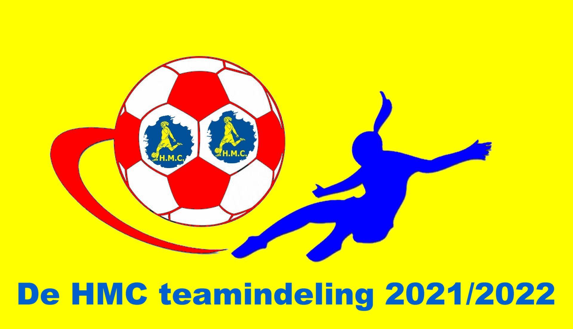 H.M.C. teamindeling 2021/2022