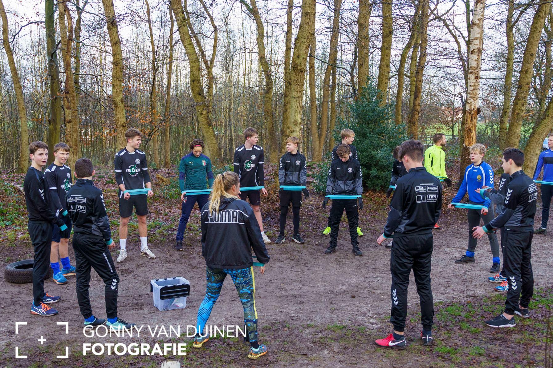 Bootcamp voor sv Hatto-Heim JO17-1