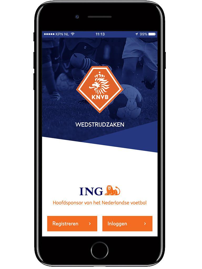 Wedstrijdzaken app KNVB uitleg hier over.