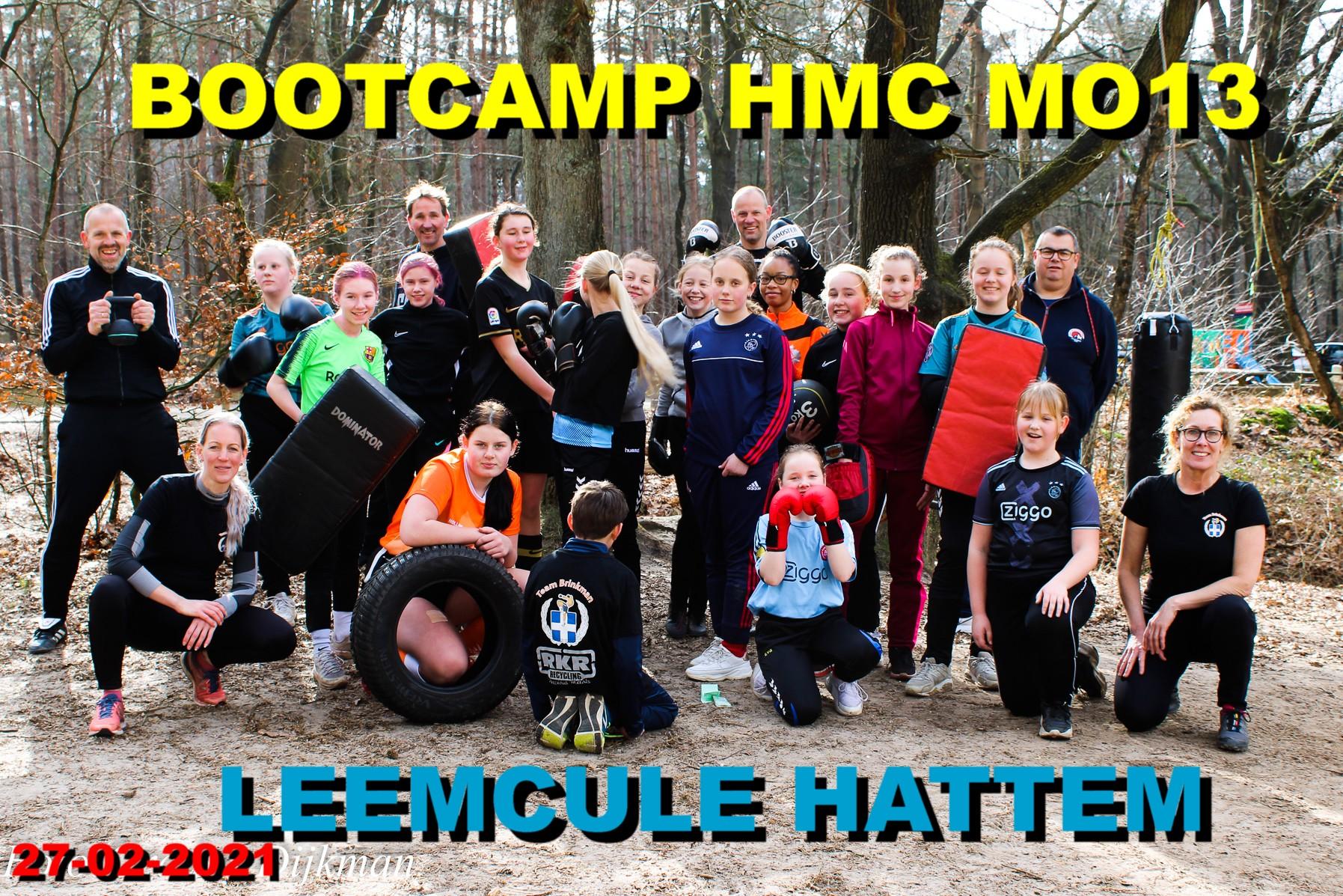 Bootcamp HMC MO13 in de Leemcule