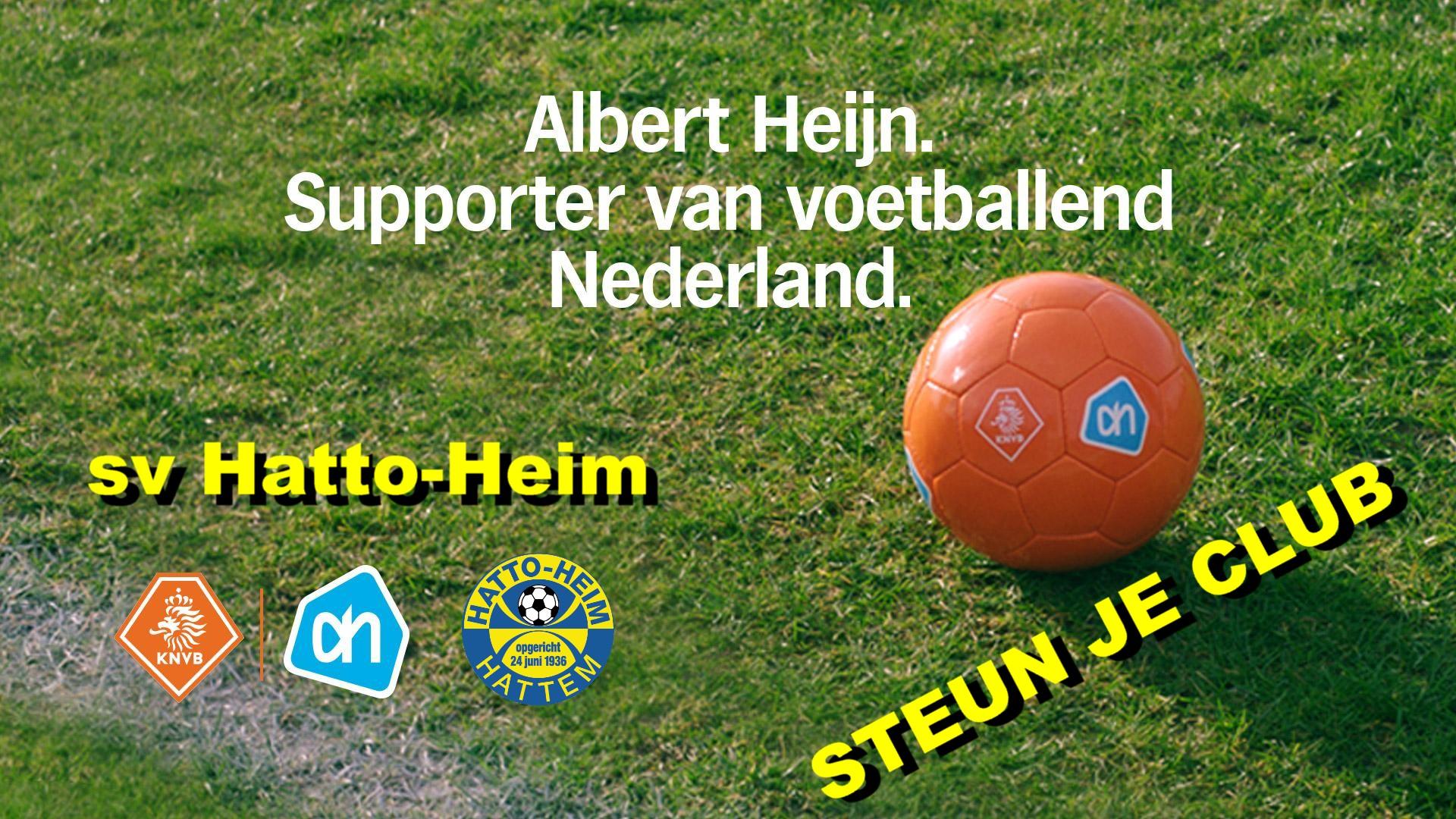 Campagne Voetbalpassie van de KNVB en Albert Heijn.