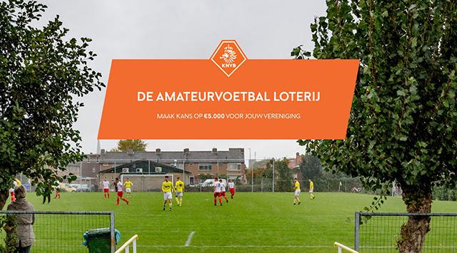 Nieuwe hoofdprijs in de Amateurvoetbal loterij.